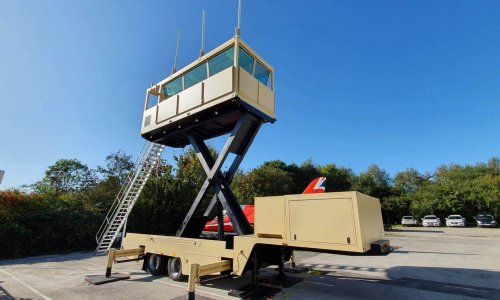 Mobile Elevating Trailer Mounted ATC Towers