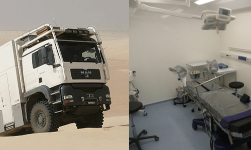 6×6 Mobile Medical Units MMUs