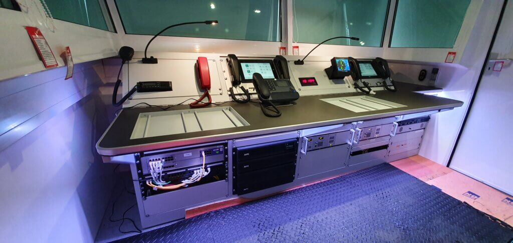 Interior of Compact Tow Bar Trailer by Mobile ATC